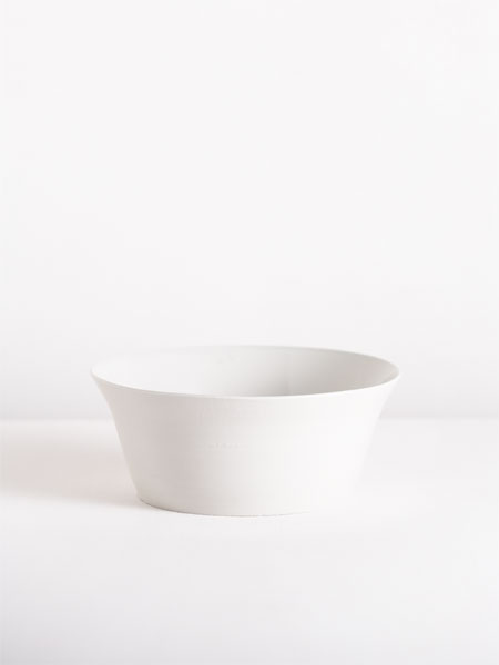 tall bowl with flat base