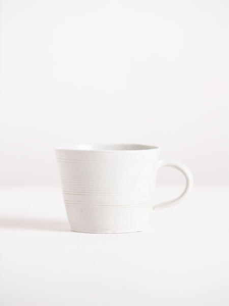 cup with incised lines